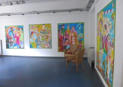 Aufbau Raum 1 Galerie92