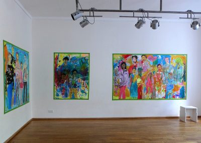 Aufbau Sicht Galerie F92